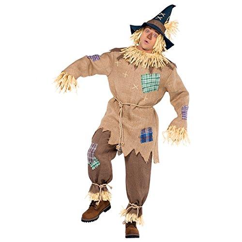 Zauberer von OZ- Vogelscheuche-Kostuem fuer Herren Gr. 44/46 (Dorothy Zauberer Von Oz Kostüm Für Erwachsene)