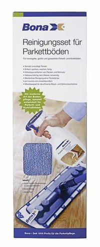 BONA Reinigungsset Wood Floor Cleaning Kit (Bona Wood Floor)