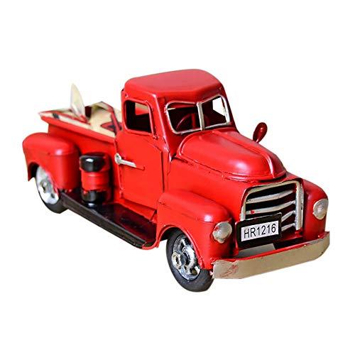 Bescita Militär RC Truck Armee 1:12 Räder Crawler Kettenrad Off-Road Auto RTR Spielzeug Altes Klassisches Design Kinder Weihnachten Geschenke (Rot)