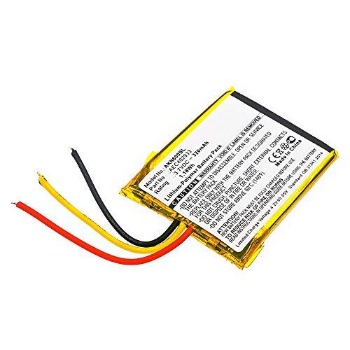 Cellonic Batteria Premium Compatibile con AKG N60 NC, AEC402933 (320mAh) Batterie di Ricambio, accu Sostituzione, sostituto