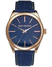 Mark Maddox MC3016-97 - Reloj de cuarzo para mujer, correa de tela color azul