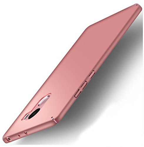 PREVOA XiaoMi RedMi 4 Pro Funda - Colorful Plastico Duro Funda Case Protective para XiaoMi RedMi 4 Pro Smartphone - Rosa
