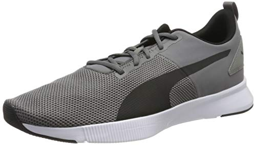 Puma Flyer Runner, Scarpe Running Unisex-Adulto, Charcoal Gray Black-Blue Turquoise, 7.5 EU