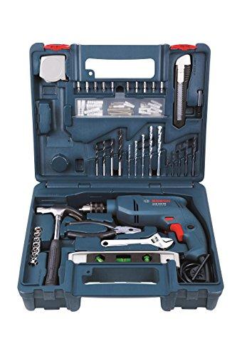 Bosch GSB 500 RE 500-Watt Tool Set (Blue)