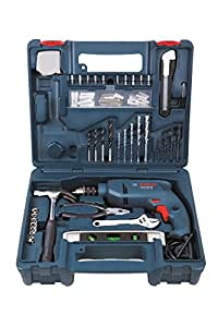 Bosch GSB 500W 500 RE Tool Set (Blue)