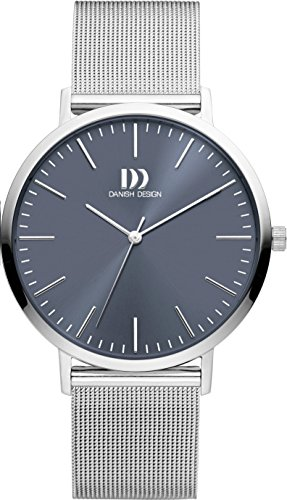Danish Design Unisex Analogue Quartz Watch with Stainless Steel Strap IQ68Q1159
