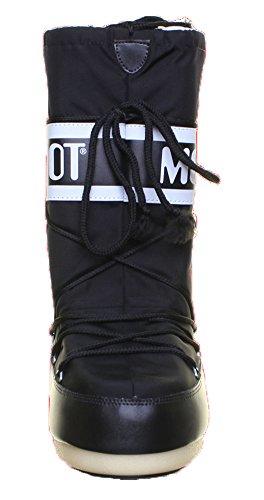 Moon Boot Queen Moonboot, Stivali donna Black D14