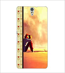 PrintDhaba Couple D-2685 Back Case Cover for SONY XPERIA C5 ULTRA (Multi-Coloured)