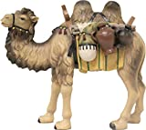 Krippenfiguren Kamel Höhe 13cm, Geeignet für 13cm Figuren, handbemalen