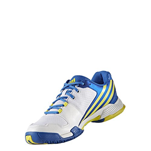 adidas Volley Team 4, Chaussures de Volleyball homme Bianco (Ftwbla/Amabri/Azul)