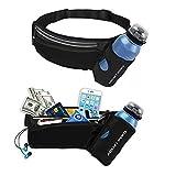 Haissky sports Lightweight Waterproof Outdoor Running/ Multipurpose Waist Bag/Pouch with Water Bottle Holder