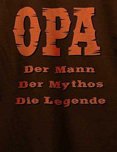 Opa Der Mann Herren T-Shirt Braun