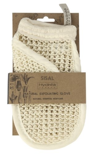 Natürlicher Sisal Peeling Handschuh- Tiefreinigung und Detox Peeling -
