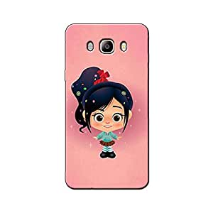 CUTE PINK GIRL BACK COVER SAMSUNG ON 8