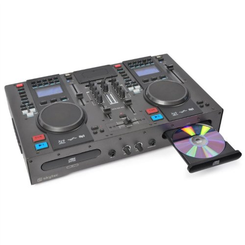 Skytec 172808 - Stx-95mc controlador doble cd/midi/ipod