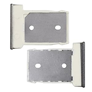 BisLinks® Grau Nano Sim Karte Tablett + SD Memory Karte Tablett Reader Halter Für HTC One M9