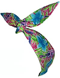 50s Vintage Tropical Guitar Head Scarf