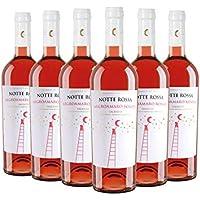 Salento IGT Negroamaro Rosato box da 6 bottiglie Notte Rossa 2018 0 75 L