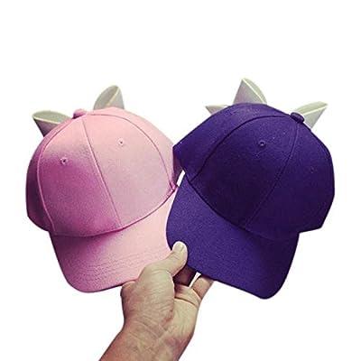 Kingko® 2016 Girl Hats Caps Adjustable Snapback Hip Hop Baseball Cap Flat