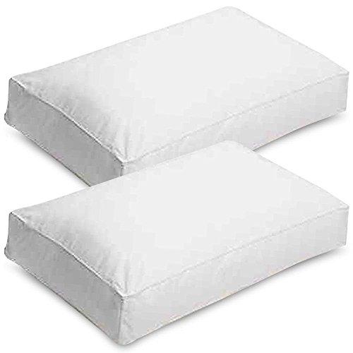 Deep Bounce Back Box Walled Pillows | Sleep&Beyond (2 Pack)