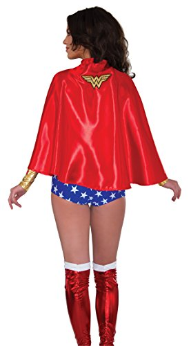 DC Comics Wonder Woman Costume Cape Adult One ()