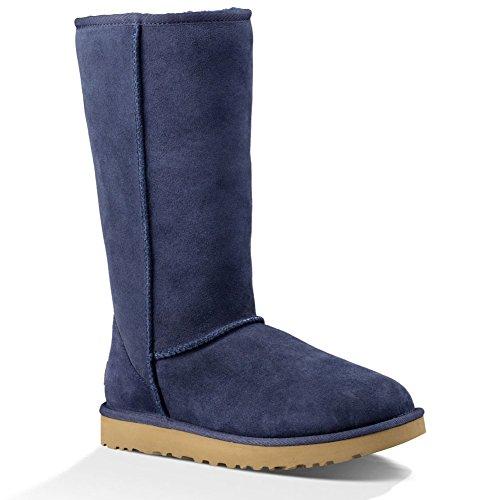 Ugg Australia Womens Classic Tall ll Sheepskin Boots Navy