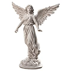 Idea Regalo - Design Toscano KY51174 Statua Angelo della Pazienza: Media, Beige, 15x40.5x54.5 cm