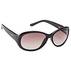 FASTRACK (P188BR1F) LADIES Style Full-Rimmed, Black color Sunglasses with Brown colored LENS, For Women