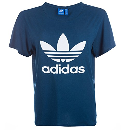 Adidas originals -  t-shirt - donna blu blu 32
