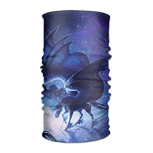Wfispiy Kopfbedeckung Blue Flying Dragon Outdoors Daily Kopfbedeckung Including Headband,Neck Gaiter,Bandana -