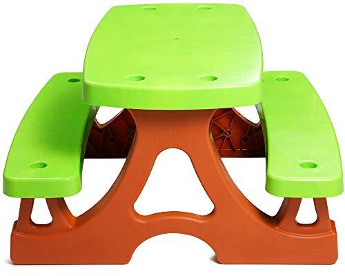 Ondis24 Picknicktisch für Kinder auch für Das Kinderzimmer geeignet, Maße ca. 75 x 82 x 47 (H)...