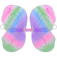 YeahiBaby Fairy Butterfly Wings Fairy Fantasía Princesa Disfraz Dance Performance Pink