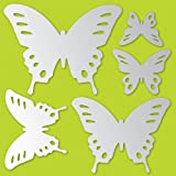 Brewster MA99232 Butterflies Peel and Stick Mirror Art by Brewster