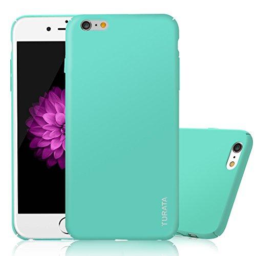 iPhone6 Plus/6S Plus (5,5 Zoll) Case - Ultra dünne Hartplastik PC Minzgrüne Schutzhülle Premium Beschichtete Rutschfeste Oberfläche Hülle von TURATA