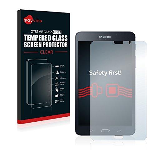 Samsung Galaxy Tab A 6 (7.0) SM-T280 Panzerglas [1er Pack] - Panzerglasfolie Glasfolie Schutzfolie 9H - Samsung 7-tablets