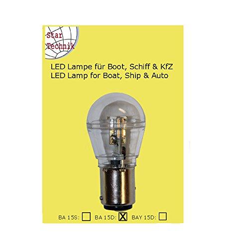 15 SMD LED Lampe mit Schutzkapsel, wasserfest (IP65) fÃ… | 04260229023082