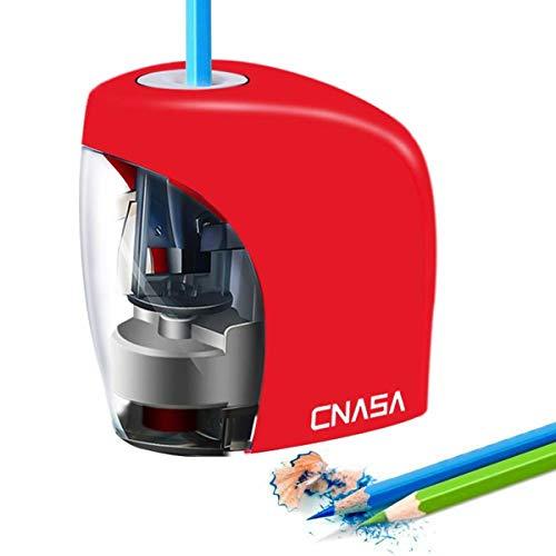 Sacapuntas Electrico,Sacapuntas Automáticos con USB y Con AA Pila,Sacapuntas Eléctrico niño para...