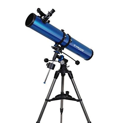 Meade Astronomische Polaris 114EQ Reflektor Teleskop-Kit mit Zubehör, perfekt für Anfänger
