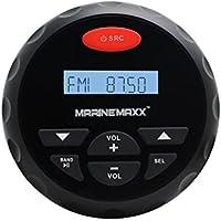 4pollici impermeabile lettore mp3audio stereo FM radio AM stereo Bluetooth marino impermeabile barca per Spa UTV ATV Auto Moto