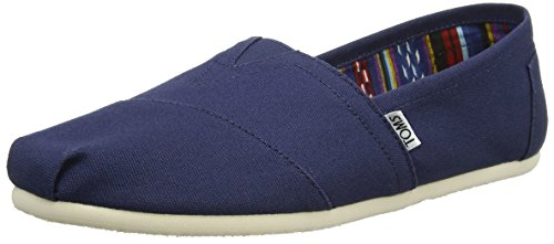 TOMS Men's Canvas Classics Alpargata NL Espadrilles, Blue (Navy), 10 UK 44...