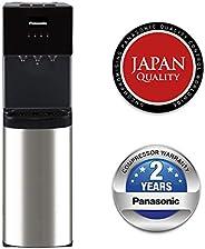 Panasonic Bottom Loading Water Dispenser, SDM-WD3438BG Black/ Stainless Steel Finish, Best for Home Kitchen &a