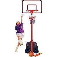 Genérico .. Bola de béisbol de pie de pie 261 cm Set de soporte de mesa Hoop Net 61 cm Se ajustable soporte de pared de tablero de respaldo de bola