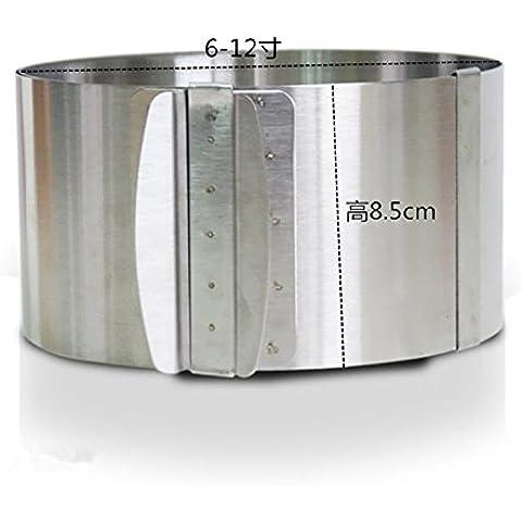 Strumento 6-12 pollici regolabile in acciaio inox circolare delimitata mousse