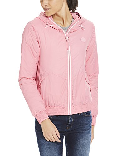 Bench Damen Jacke Light Padded Windbreaker, Rosa (Chateau Rose Pk052), Medium