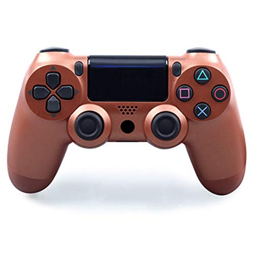 JIN Lenkergriff PS4 Druckknopf Steam in Box Mac Neu Controller Gaming PRO Vibration Wireless Doppelmotor Mostri Slim (Pro-gaming-controller Ps3)