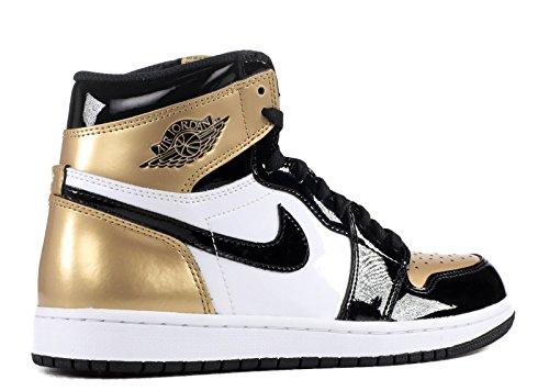 Nike, Sneaker uomo Black/Black.Metallic Gold