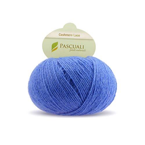 Cashmere Denim Pullover (Pascuali Strickwolle Cashmere Lace, 170 m, 25g, Wolle Denim 525)