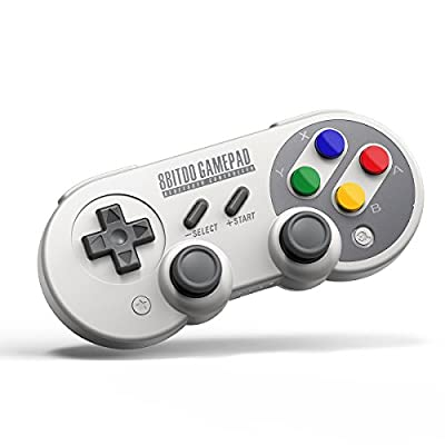 QUMOX 8Bitdo SF30 Pro Controller Windows, macOS, & Android - Nintendo Switch