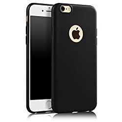 ikazen Juice Series Ultra Thin Soft TPU matte Case for Apple iPhone 6 6S - Black