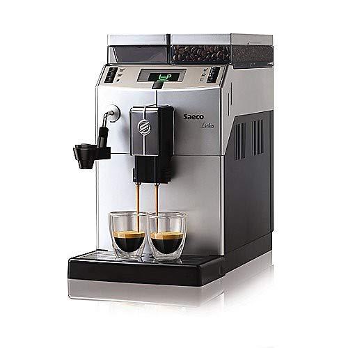 Saeco RI9841/01 Lirika Macchiato Kaffeevollautomat Silber
